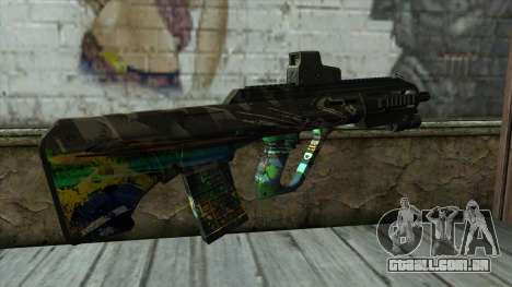 AUG A3 from PointBlank v3 para GTA San Andreas segunda tela
