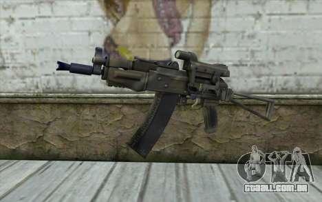 AK74U from Battlefield 2 para GTA San Andreas