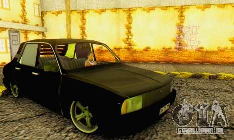 Dacia 1310 TLX PRN para GTA San Andreas traseira esquerda vista