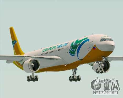 Airbus A330-300 Cebu Pacific Air para GTA San Andreas