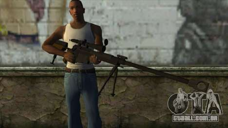 PGM Ultima Ratio Hecate II para GTA San Andreas terceira tela