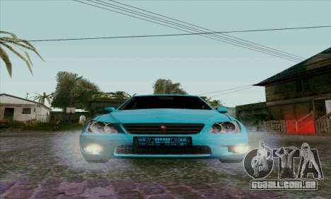 Toyota Altezza para GTA San Andreas vista interior