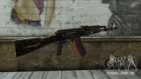 Graffiti AK47 para GTA San Andreas segunda tela