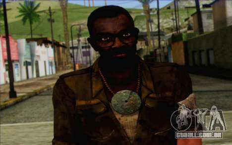 Dennis Rogers (Far Cry 3) para GTA San Andreas terceira tela