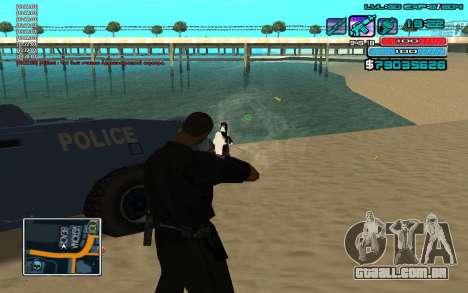 C-HUD por WH editado Mr_Zlo para GTA San Andreas terceira tela