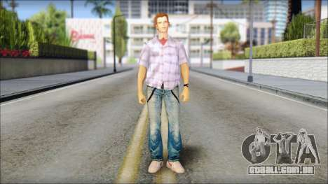 Marty from Back to the Future 1985 para GTA San Andreas