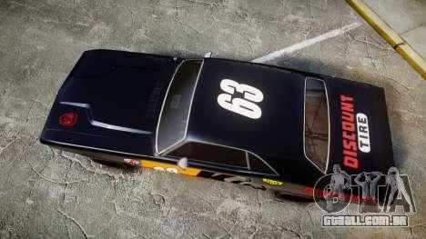 Dodge Challenger 1971 v2.2 PJ8 para GTA 4 vista direita