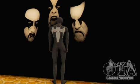 Skin The Amazing Spider Man 2 - Molecula Estable para GTA San Andreas terceira tela