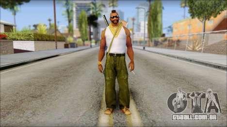 MR T Skin v10 para GTA San Andreas