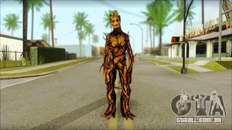 Guardians of the Galaxy Groot v2 para GTA San Andreas