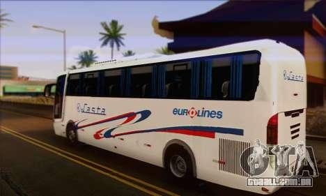 Volvo Lasta Bus para GTA San Andreas esquerda vista