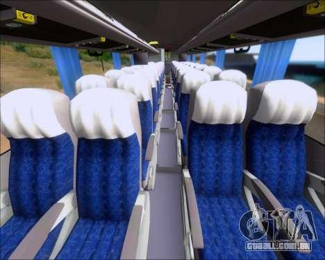 Busscar Elegance 360 Viacao Nordeste 8070 para GTA San Andreas vista inferior