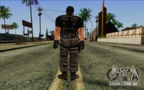 Os soldados de Rogue Warrior 1 para GTA San Andreas segunda tela