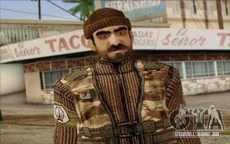 Soldados MEK (Battlefield 2) Pele 2 para GTA San Andreas terceira tela