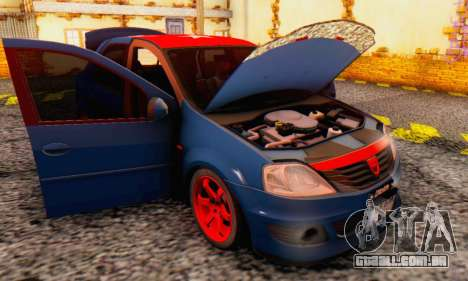 Dacia Logan Turkey Tuning para GTA San Andreas vista superior