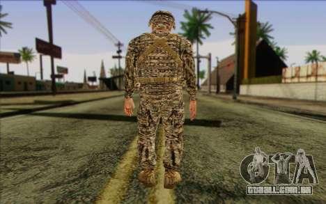 Soldados do Exército dos EUA (ArmA II) 1 para GTA San Andreas segunda tela