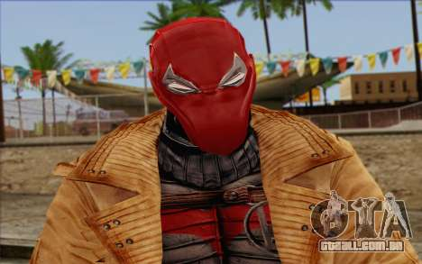 Red Hood from DC Comics para GTA San Andreas terceira tela