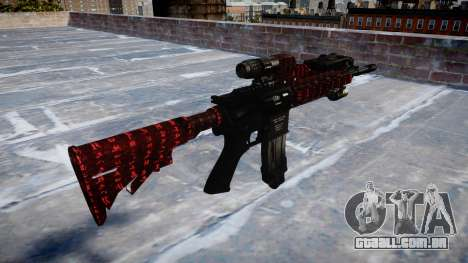 Automatic rifle Colt M4A1 arte da guerra para GTA 4 segundo screenshot
