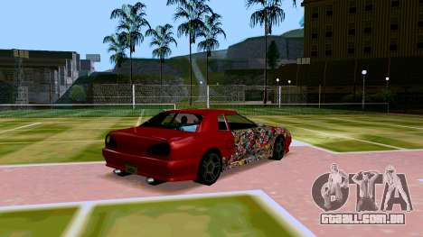 Elegy OnDrift para GTA San Andreas vista direita