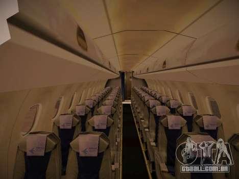 Embraer E190 Azul Brazilian Airlines para GTA San Andreas vista inferior