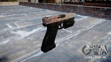 Pistola Glock de 20 de cereja blososm para GTA 4 segundo screenshot
