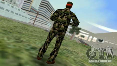 Camo Skin 01 para GTA Vice City terceira tela