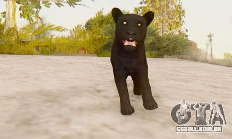 Black Panther (Mammal) para GTA San Andreas terceira tela