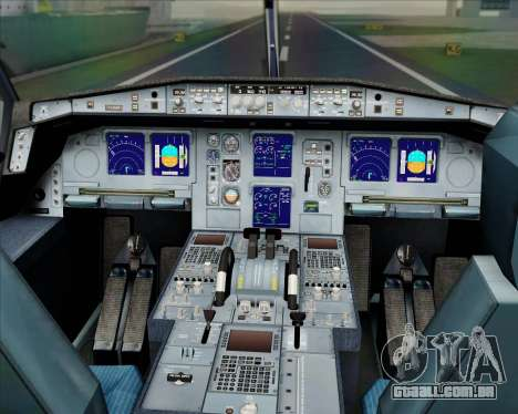 Airbus A330-300 Etihad Airways para GTA San Andreas interior