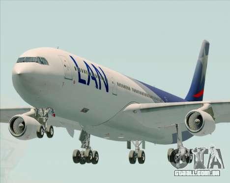 Airbus A340-313 LAN Airlines para GTA San Andreas