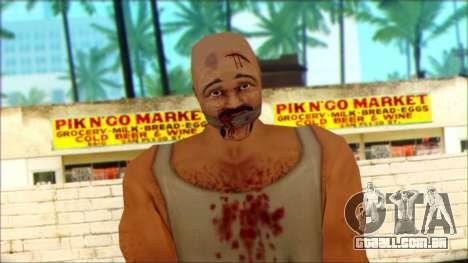 Manhunt Ped 8 para GTA San Andreas terceira tela