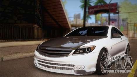 Mercedes-Benz CL63 AMG para GTA San Andreas