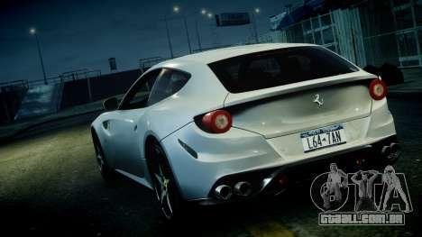 Ferrari FF 2011 v1.5 para GTA 4 vista interior