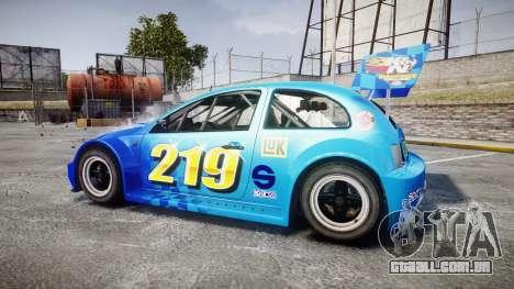 Zenden Cup Kicker para GTA 4 esquerda vista
