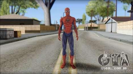 Red Trilogy Spider Man para GTA San Andreas