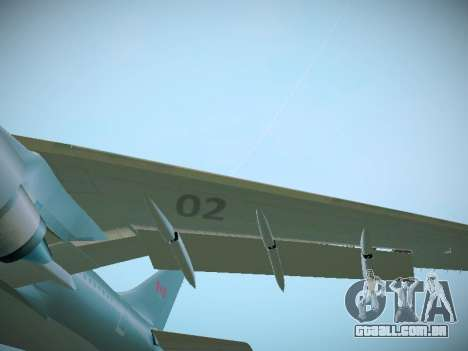 Canadian Forces Airbus CC150 Polaris para GTA San Andreas vista interior