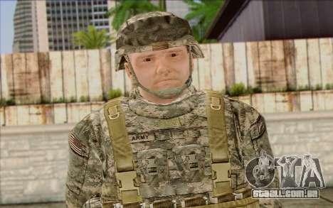 Soldados do Exército dos EUA (ArmA II) 1 para GTA San Andreas terceira tela