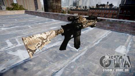 Automatic rifle Colt M4A1 viper para GTA 4 segundo screenshot