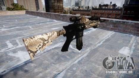 Automatic rifle Colt M4A1 viper para GTA 4 segundo screenshot