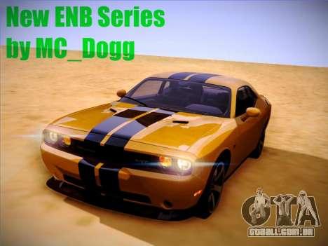 Novo ENBSeries por MC_Dogg para GTA San Andreas