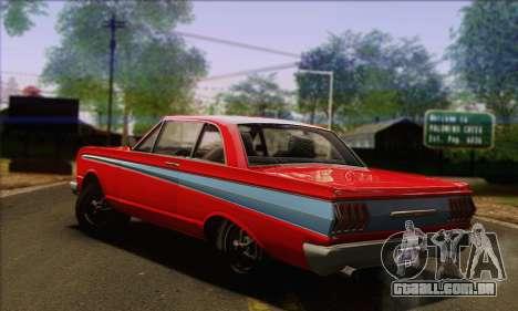 GTA V Blade para GTA San Andreas esquerda vista
