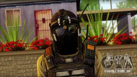 Mercenário (SC: Blacklist) v1 para GTA San Andreas terceira tela