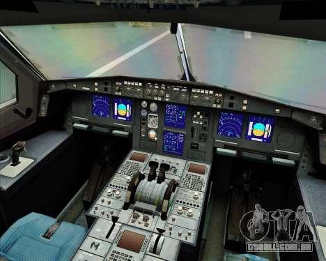 Airbus A330-300 Air Asia X para GTA San Andreas interior