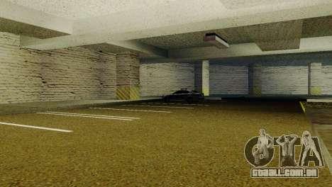 Novas texturas parque de Estacionamento da LSPD para GTA San Andreas segunda tela
