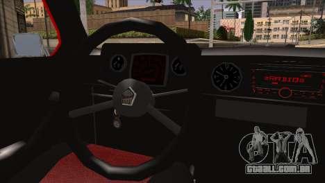 ZAZ M para GTA San Andreas traseira esquerda vista