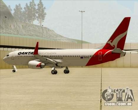 Boeing 737-838 Qantas para o motor de GTA San Andreas