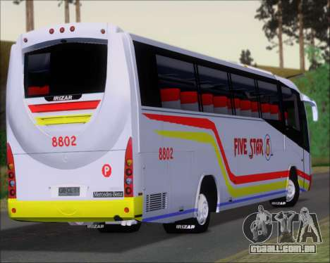 Irizar MQ2547 Five Star 8802 para GTA San Andreas interior