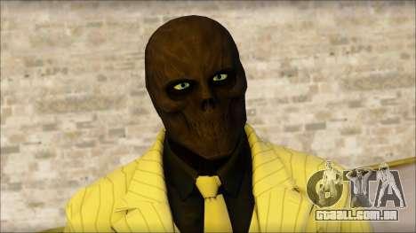 Black Mask From Batman: Arkham Origins para GTA San Andreas terceira tela
