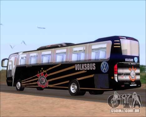 Busscar Vissta Buss LO Faleca para GTA San Andreas traseira esquerda vista