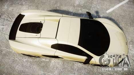 McLaren 650S Spider 2014 [EPM] Yokohama ADVAN v3 para GTA 4 vista direita