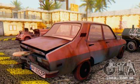 Dacia 1310 MLS Rusty Edition 1988 para GTA San Andreas vista direita